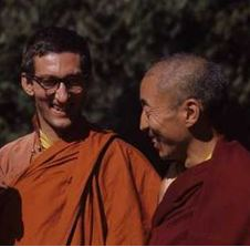 Sangharakshita and  Dhardo Rimpoche